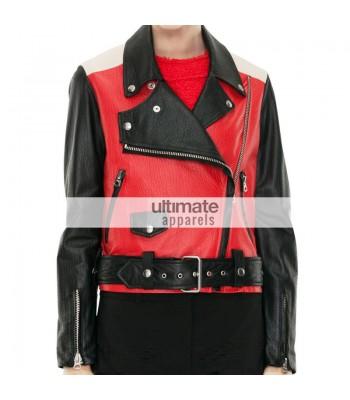 Demi Lovato Vs Miranda Kerr - Wears Acne Studios Red Jacket