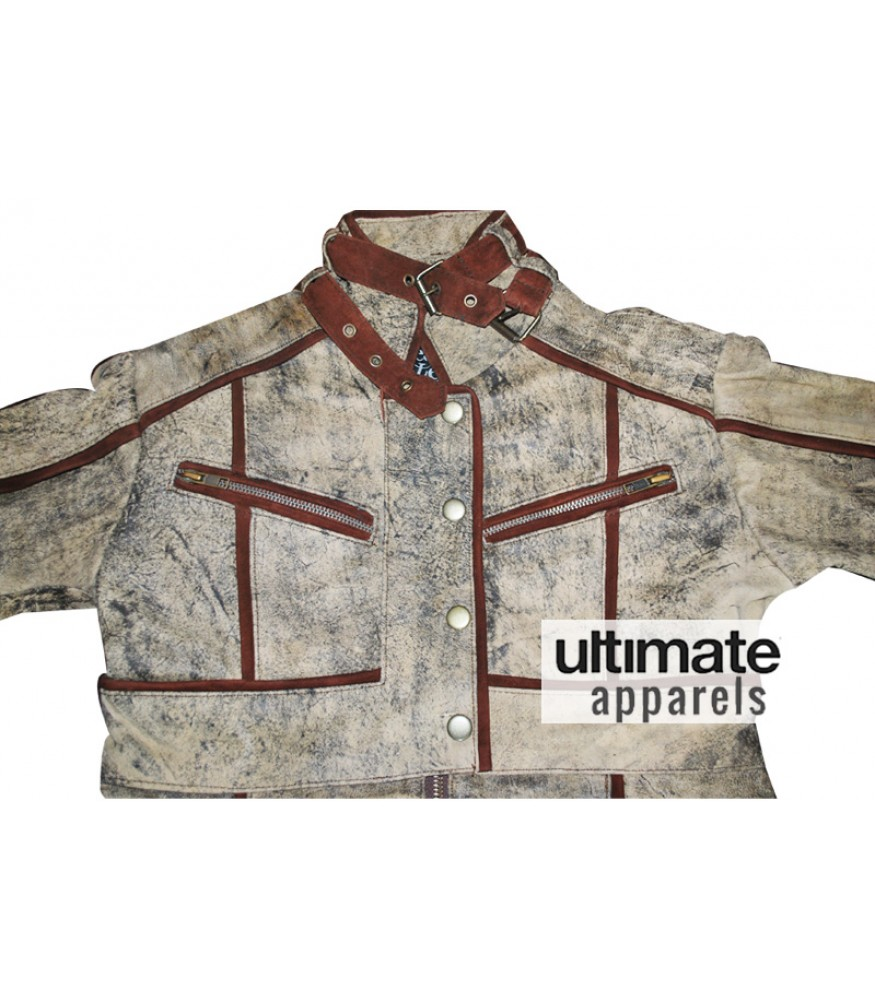Total Recall Jessica Biel Melina Leather Jacket