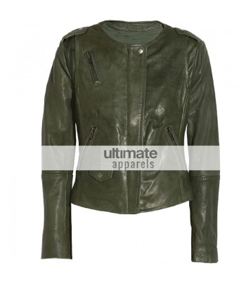Muubaa Ultimate Women Olive Green Designers Jacket