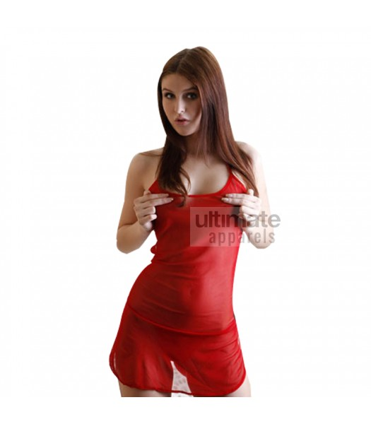 Babydoll Hot Bridal Red Nighty For Women