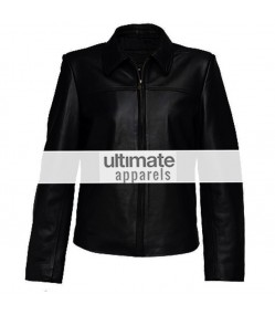 Ultimate Designers Women Black Elegant Leather Jacket