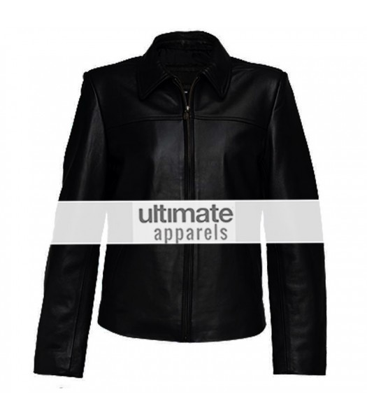Ultimate Designers Women Black Elegant Leather Jacket