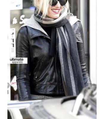 Gwen Stefani Designers Black Jacket Outfit
