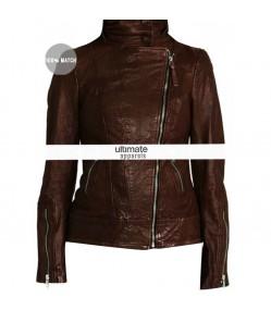 Once Upon a Time Season 2 Emma Swan Brown Jacket