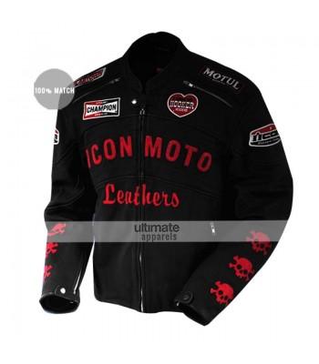 Planet Terror Cherry Darling Icon Moto Women Biker Jacket