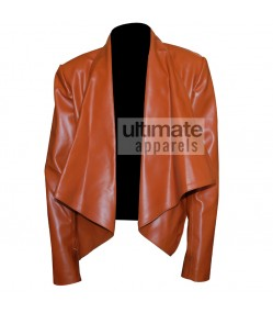 2 Broke Girls Caroline Channing Lapel Collar Jacket
