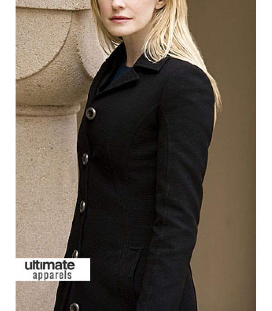Cold Case Lilly Rush (Kathryn Morris) Black Wool Jacket