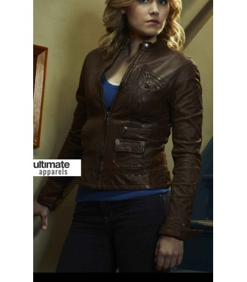 Haven Emily Rose (Audrey Parker) Brown Jacket Clothing