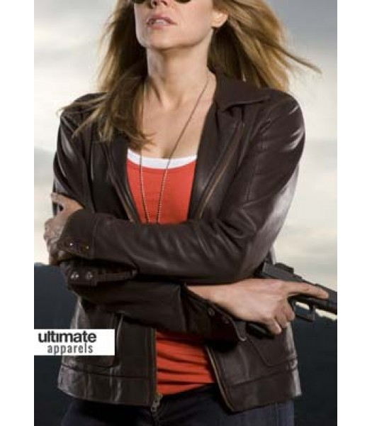 In Plain Sight Mary Shannon (Mary McCormack) Brown Jacket