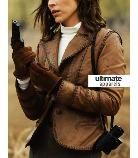 Mummy Evelyn O'Connell (Maria Bello) Brown Jacket