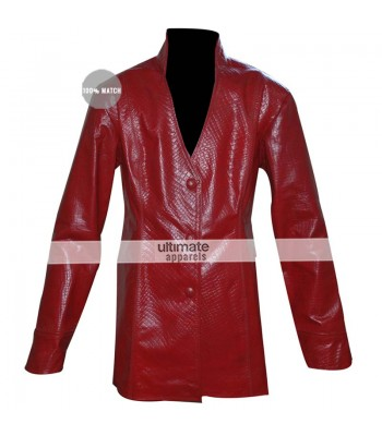 Terminator 3 Rise of the Machines T-X Kristanna Loken Red Jacket
