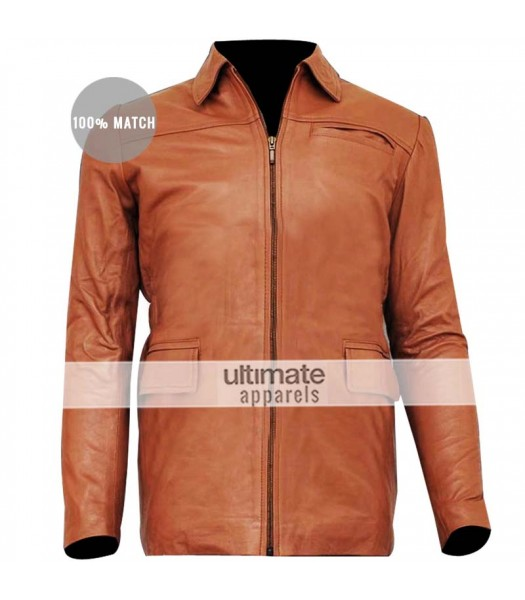 Hunger Games Jennifer Lawrence (Katniss Everdeen) Brown Jacket