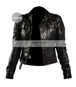 Torchwood Gwen Cooper (Eve Myles) Black Jacket Outfit